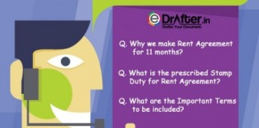 frequently asked questions on rent agreement