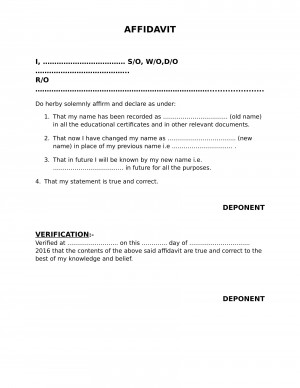 Affidavit of name change form carnavalsmusic affidavit spiritdancerdesigns Images