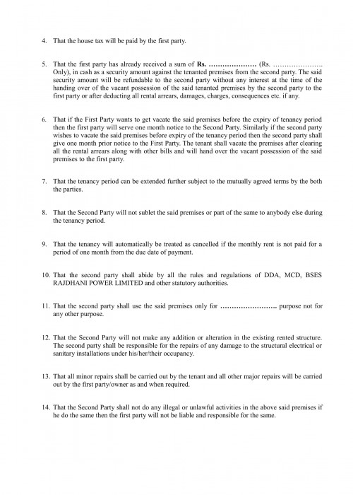RENT AGREEMENT-2