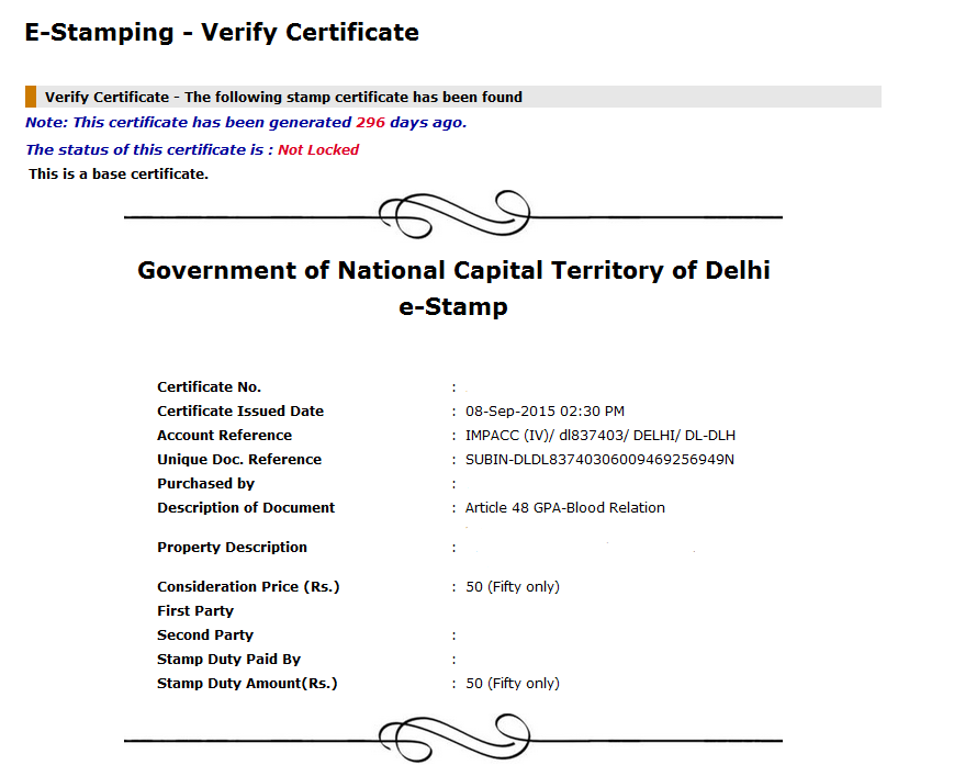 How To Verify Authenticity Of E Stamp Paper Edrafter In