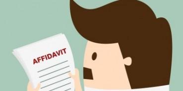 general affidavit