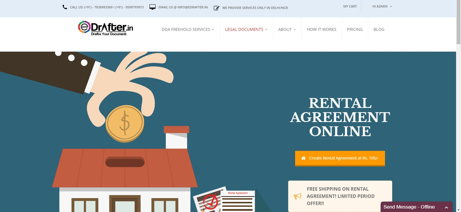 How To Make Rent Agreement Online Edrafter