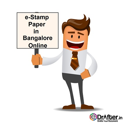 E Stamp Paper In Bangalore Get It Online Edrafter In